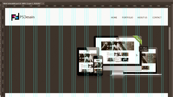 Membuat bagian slideshow website