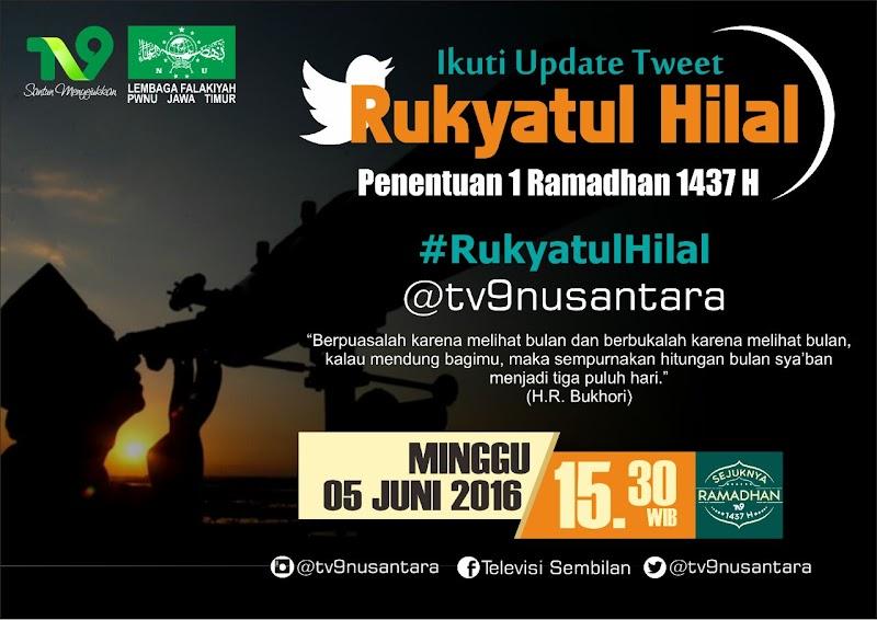 Lembaga Falakiyah NU Observasi Hilal di 42 Titik di Indonesia