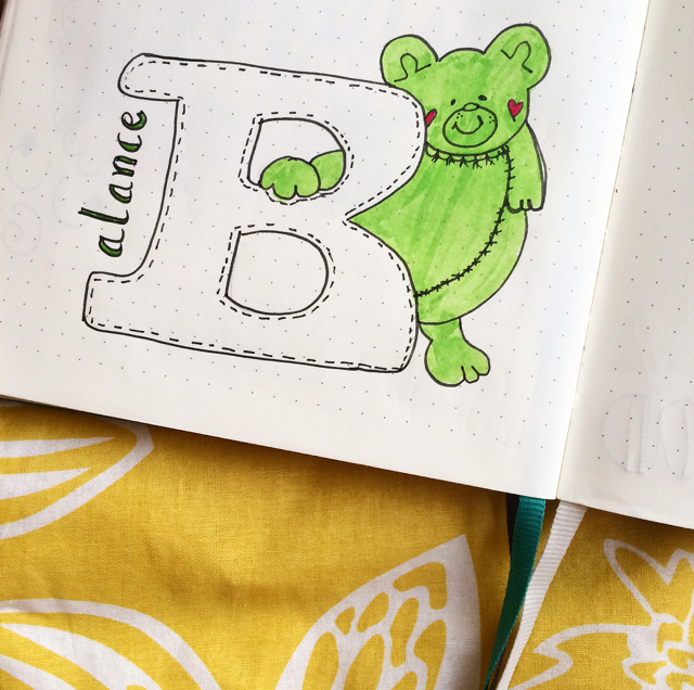 #100DaysOfDoodles | Day 25 | What is your favorite word starting with Letter B? | The 100 Day Project