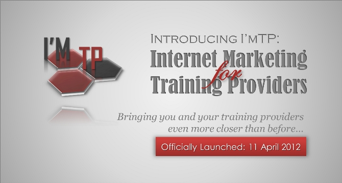 Introducing I'mTP: Internet Marketing for Training Providers