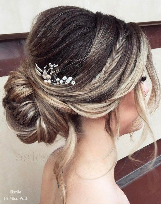 Hairstyles-Gorgeous Wedding Forٍ Chic Bride On Class World 6