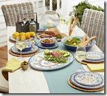 Lakeland Amalfi Picnic Tableware