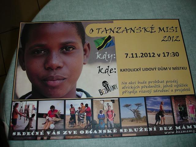 7.11.2012 Přednáška o Tanzanské misii - DSC06714.JPG