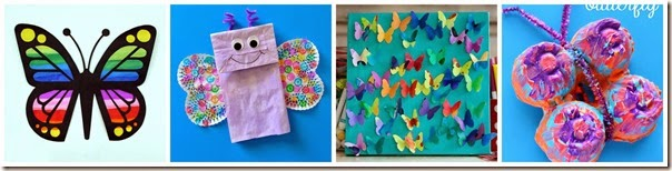 Butterfly Crafts for Kids 5-8