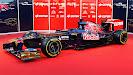 Toro Rosso STR7 Ferrari left front