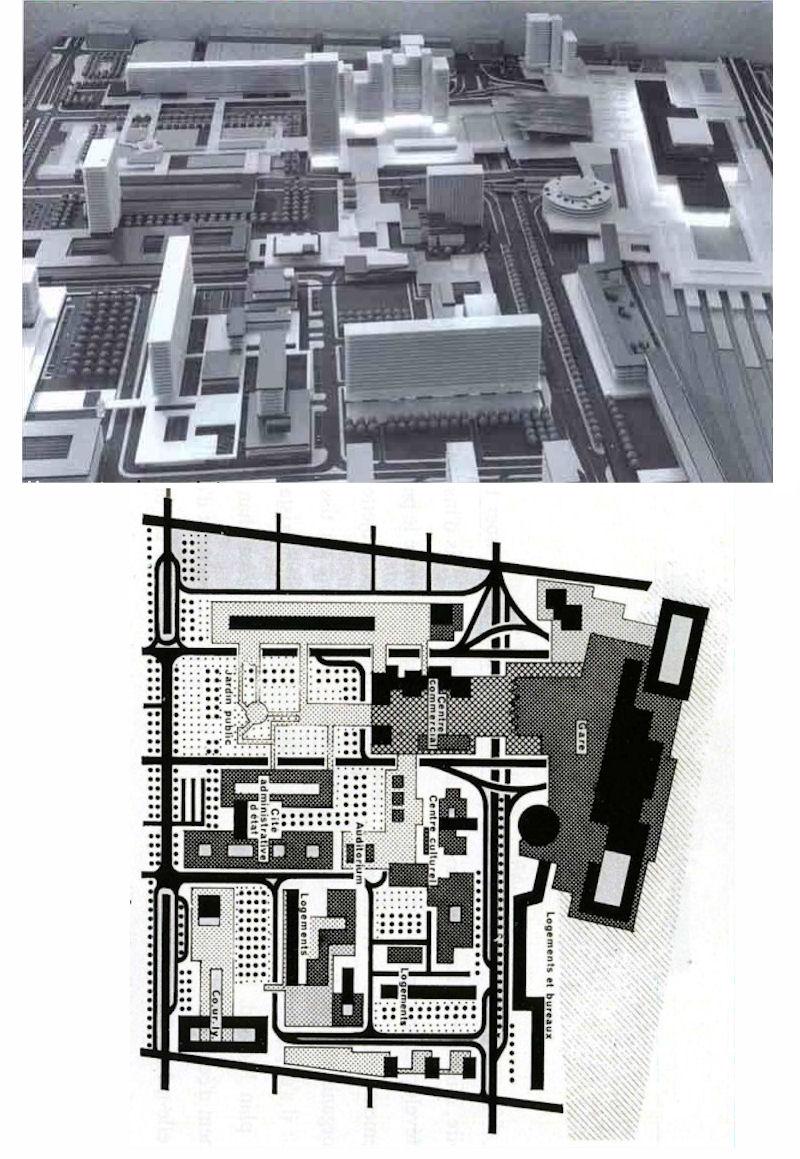 Plan Centre Commercial Part Dieu : centre, commercial, Part-Dieu, Noeud, Ferroviaire, SkyscraperCity