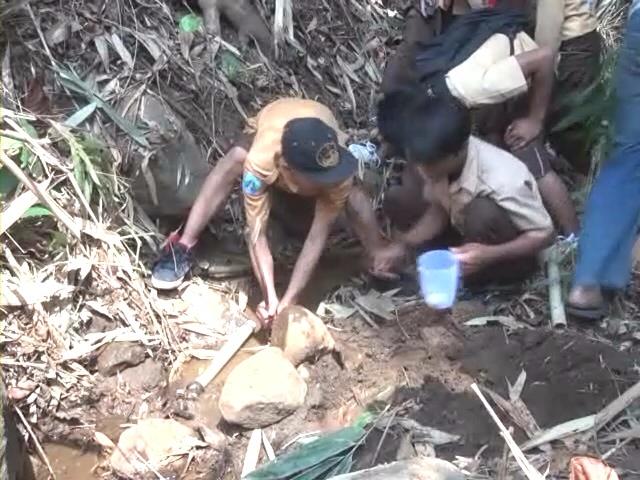 Kemarau Panjang, Puluhan Sumber Mata Air Gunung Anjasmoro Mati dan Kritis