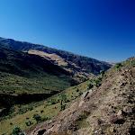 Początek końca obcowania z górami (droga do Debarku)