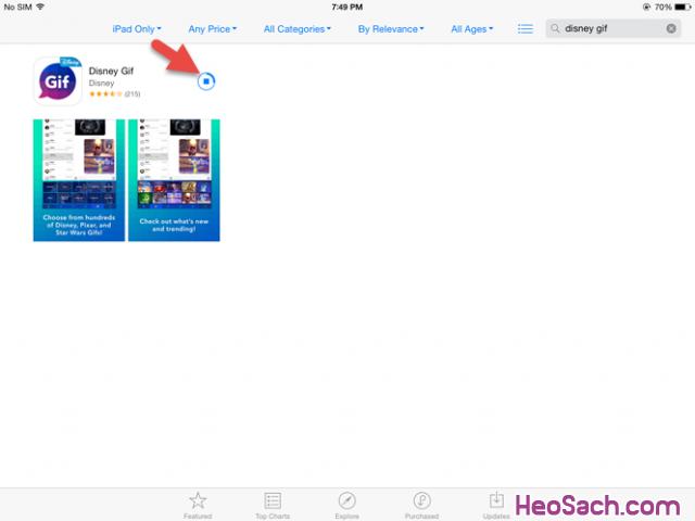 Hình 10 - Hướng dẫn tải ứng dụng iOS không dành cho Việt Nam