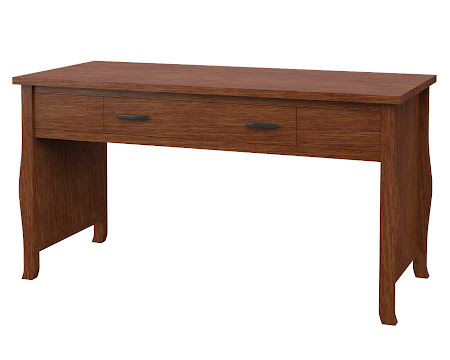 Cascade Writing Desk in Old_Master Quarter Sawn Oak