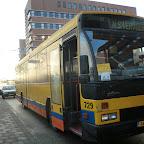 de Daf Den Oudsten bus 729 van South west tours Ex Veolia 729