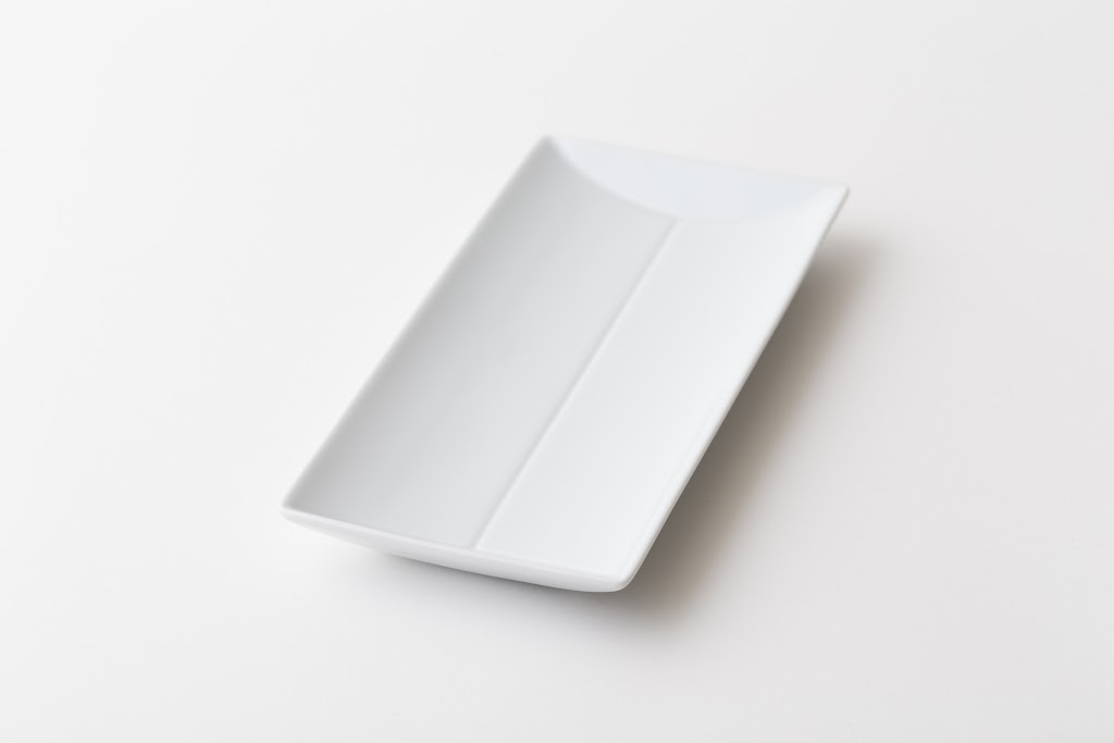 Times Rectangle Plate Set (S, M)