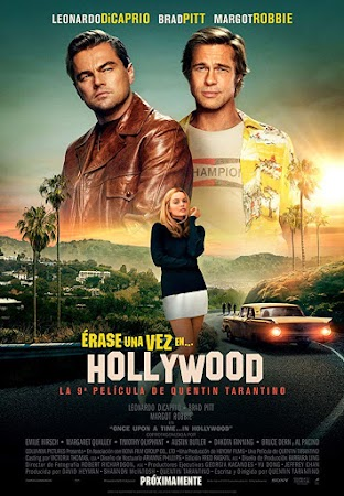 Poster Of Once Upon a Time ... in Hollywood 2019 In Hindi Bluray 1080P HEVC Free Download