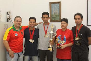 Taekwondo do Esporte Cidadão ganha 7 medalhas no Paulista