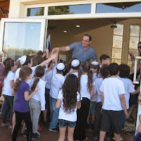 Receiving Torah 2nd grade 2012  - IMG_5292.jpg