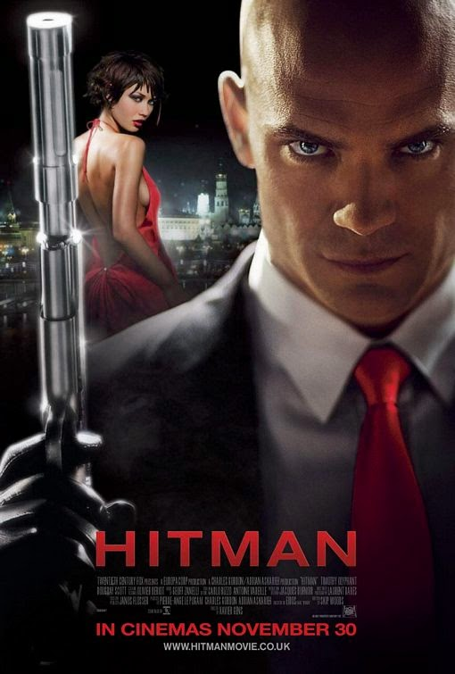Poster Of English Movie Hitman (2007) Free Download Full New Hollywood Movie Watch Online At alldownloads4u.com