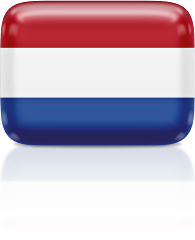 Dutch flag clipart rectangular