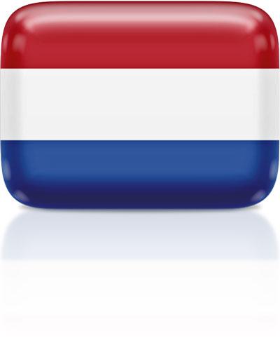 Dutch flag clipart rectangular