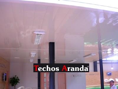 Falsos techos aluminio Madrid