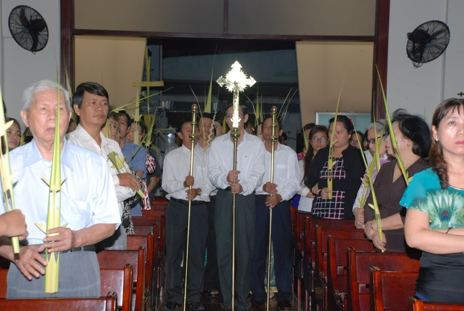 Thánh lễ Lá: Kỷ niệm cuộc thương khó Chúa Giêsu