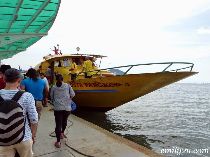 Marina Island Ferry Service to Pangkor Island