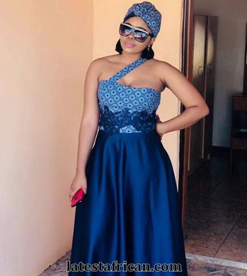Traditional Shweshwe Dresses 2019 African Style