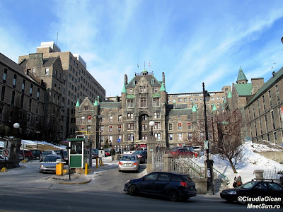 Montreal. Spitalul Royal Victoria