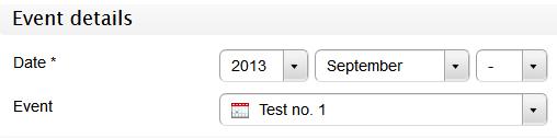 Google Calendar - Search event