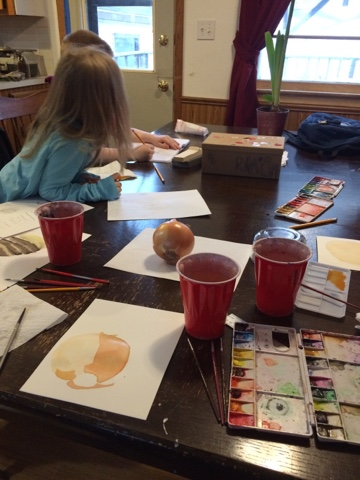 A peek into what we did this week in our classical LDS homeschool.
