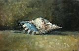 portrait / huile toile / 25x40 / 1993