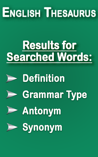 English Thesaurus 2.6 screenshots 17