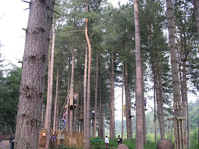 Go Ape, Delamere Forest, June 09