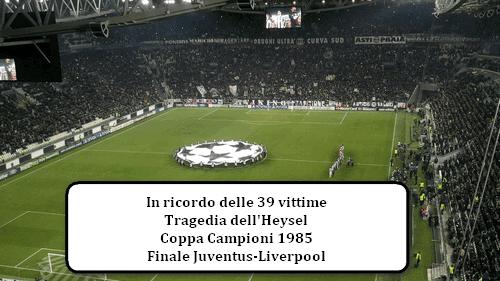 Tragedia dell'Heysel, Juventus Liverpool