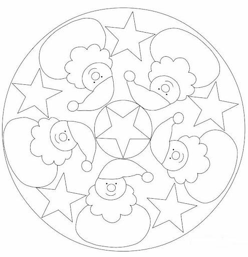 Fichas Infantiles Mandalas De Los Oficios Para Colorear