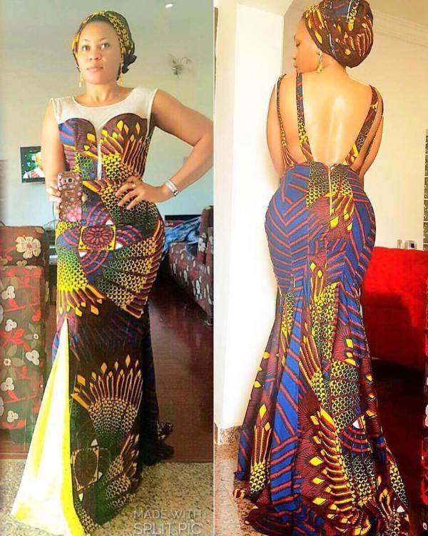 Mishono Mipya Ya Vitenge Guest Outfit 2017 Fashion 2d