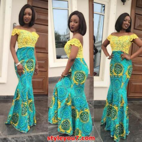 Latest kitenge maxi dress styles 2017 - style you 7