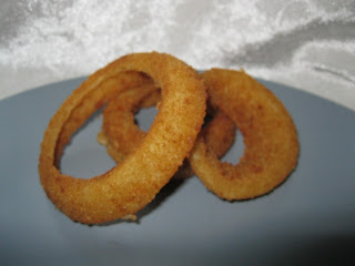 Aldi onion rings cooked
