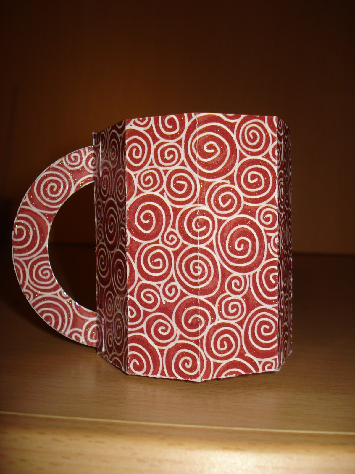 Basteln Mit Tassen conny s kreative welt anleitung kaffeetasse