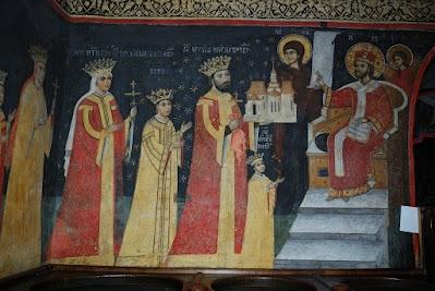 Kloster Sucevita, Kirchenstifter Gheorghe Movila
