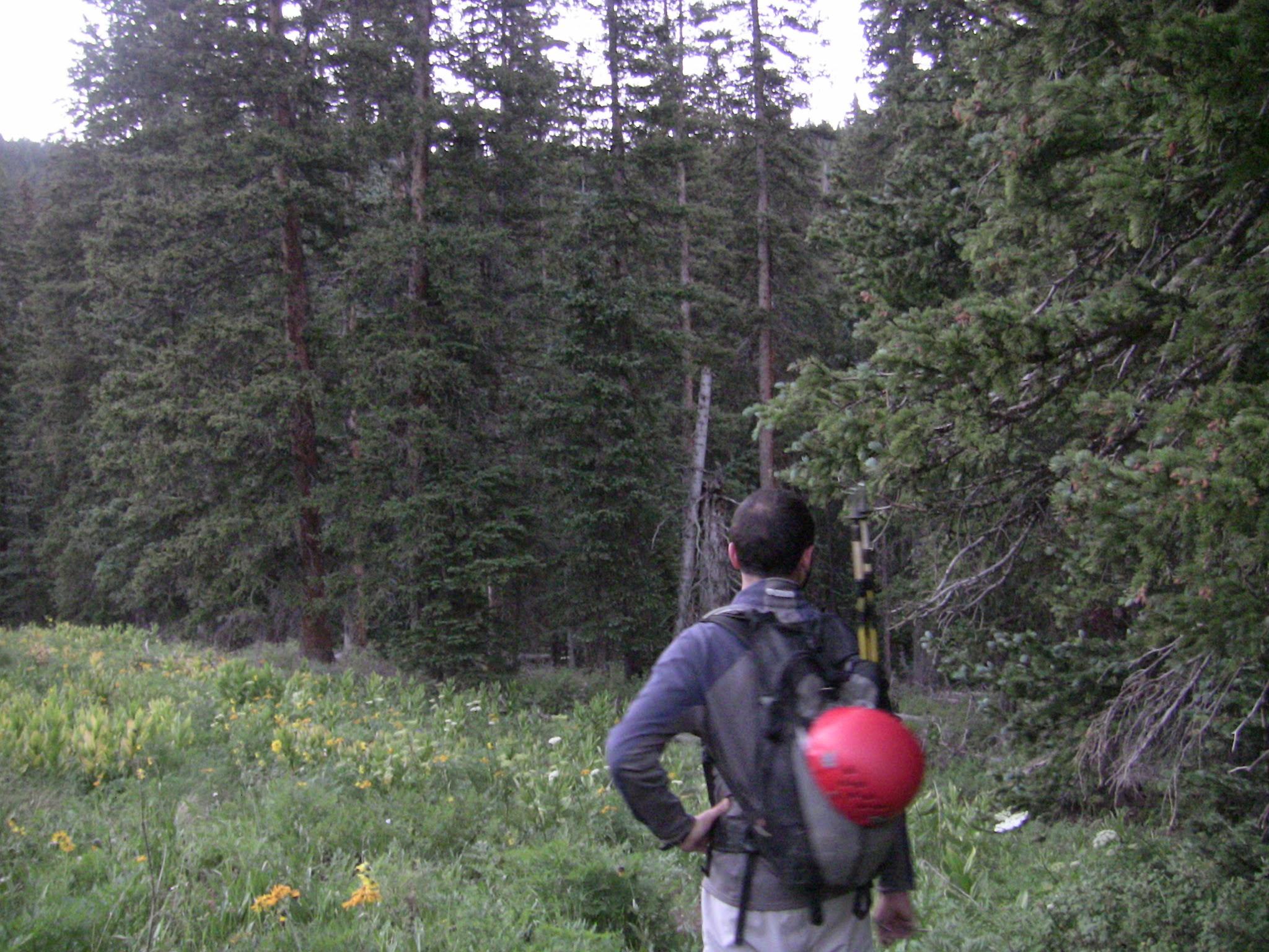 Jared Hiking