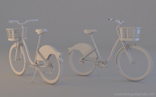 uBike 3D Model