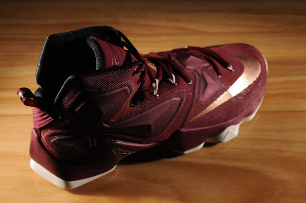 This Cleveland Inspired LeBron 13 is Coming Out in Mens Too