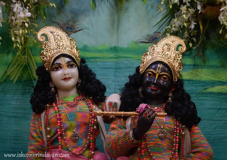 ISKCON Vrindavan Mangal Deity Darshan 27 Feb 2016 (1)