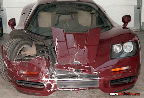 Rowan McLaren's first crash
