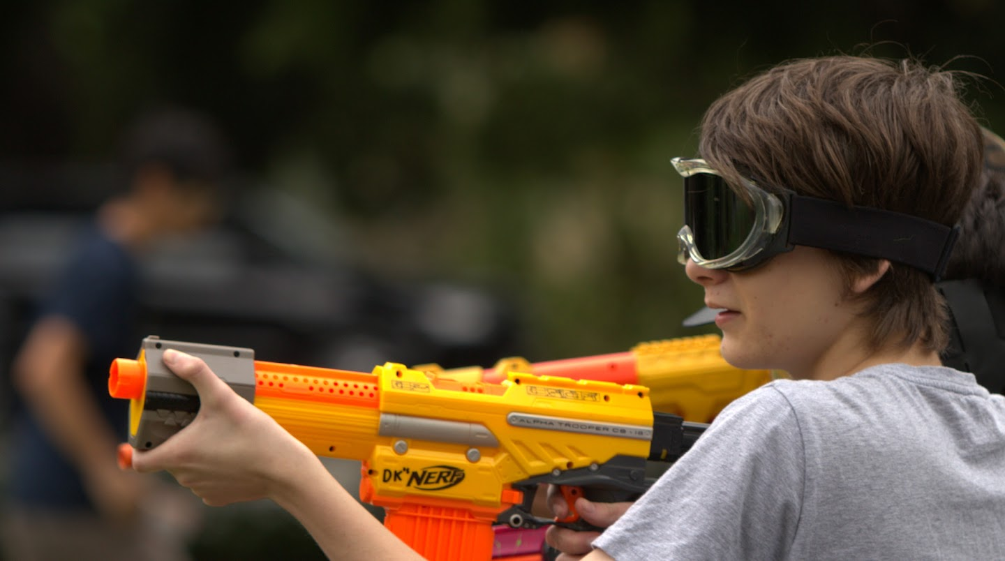 Kelvin Grove war pictures: December 18th   Picture heavy... Nerf%2Bwar%2B233