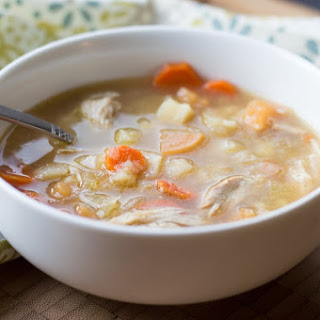 Chicken Drumstick Soup (Pressure Cooker or Stovetop).