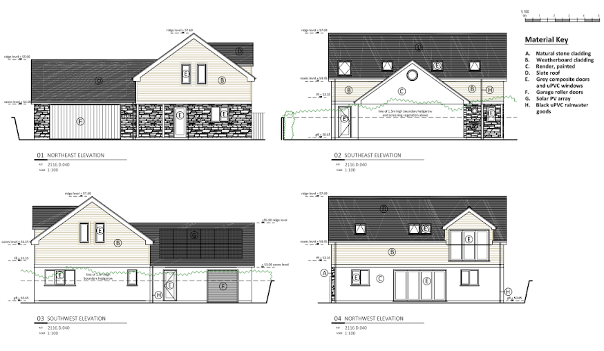 Submitted Elevations