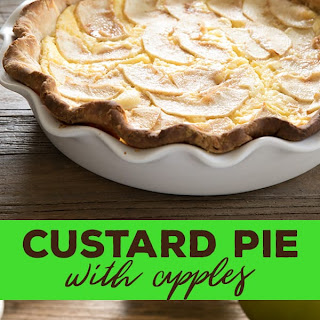 Custard Pie With Apples.