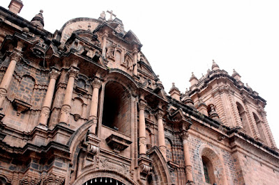 Cathedral in Cuzco Peru