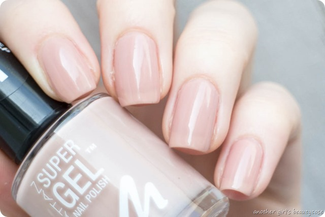 Manhattan Super Gel Nail Polish Swatch Erfahrungsbericht sweet side time for taupe berry love mauvelicious-2